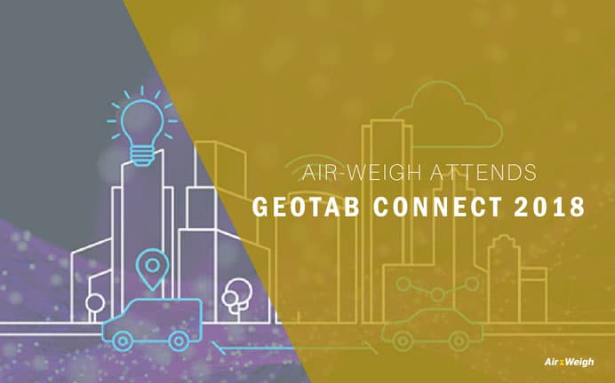 Air-Weigh attends Geotab Connect 2018 Conference