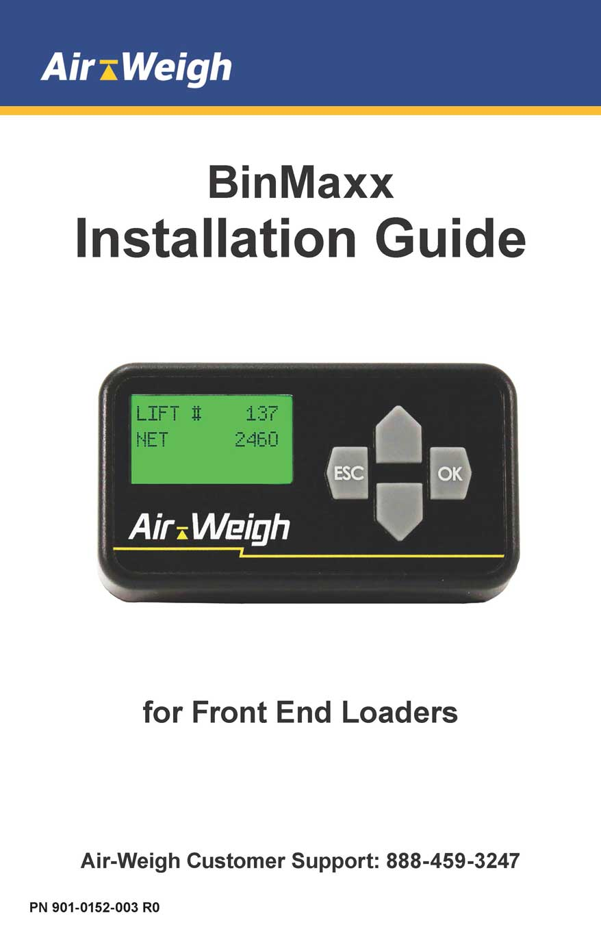 BinMaxx Installation Guide