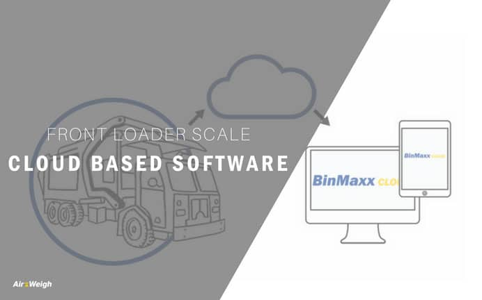 BinMaxx front loader scale now powered by the Cloud