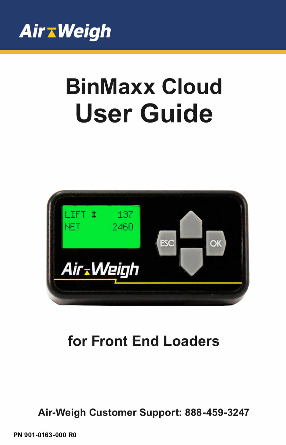 BinMaxx Cloud User Guide for Front End Loaders