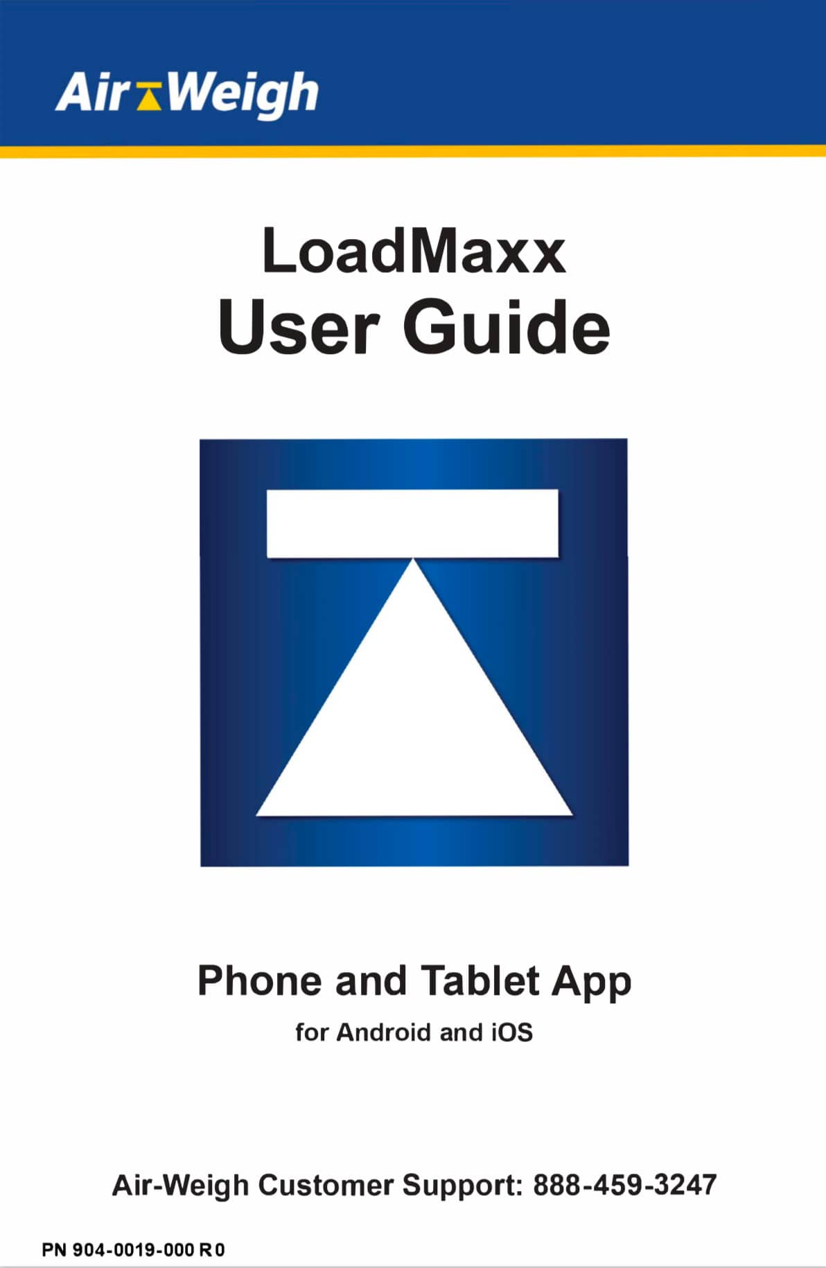 LoadMaxx User Guide Phone and Tablet App