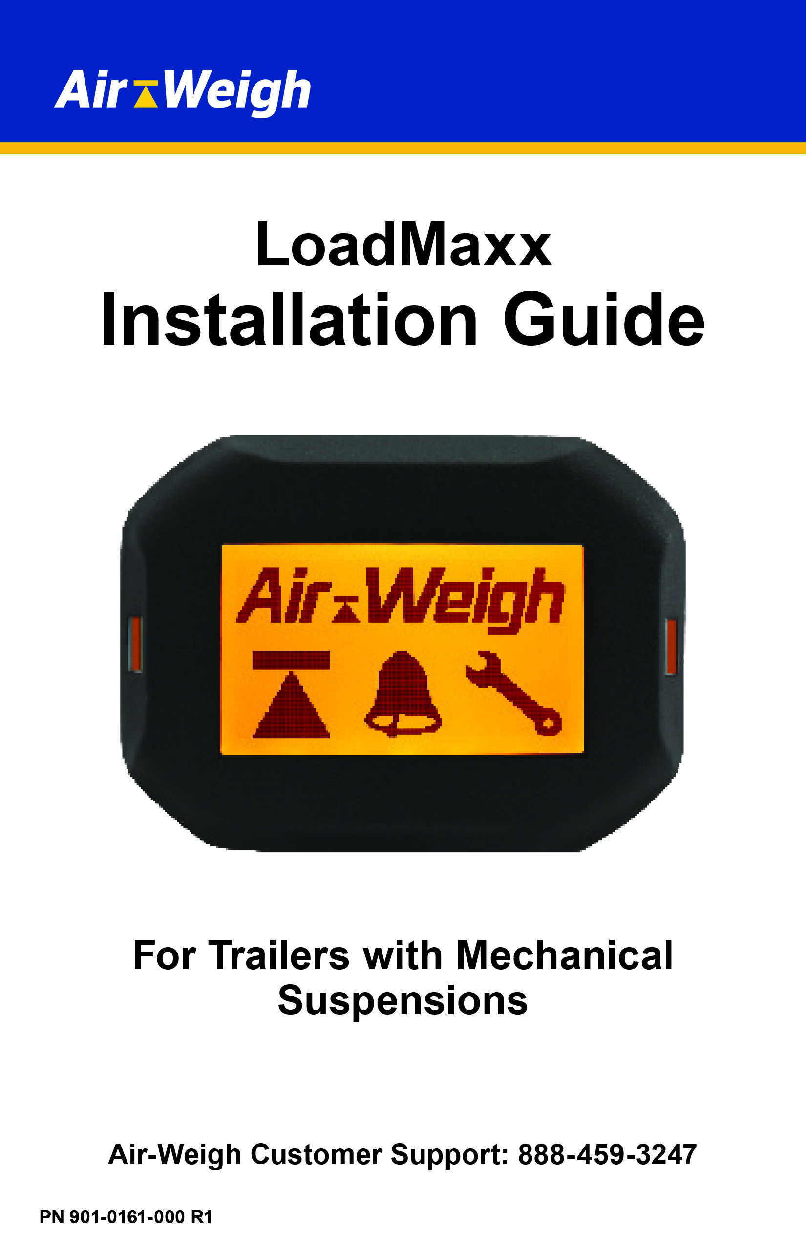 Air-Weigh Installation Manuals on