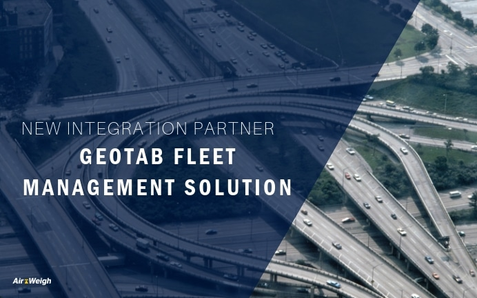 Air-Weigh Integrates with Geotab Fleet Management Solutions