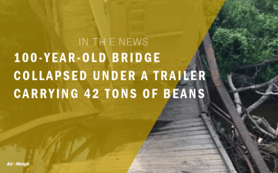 In the News: 100-year-old bridge collapsed under a trailer carrying 42 tons of beans