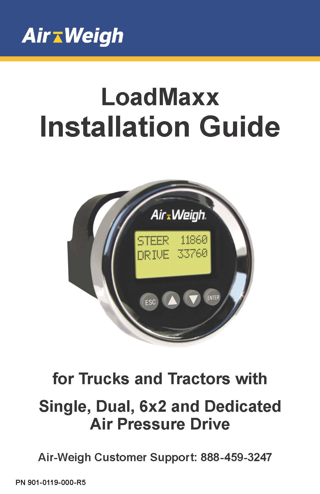 Installation Guide for Trucks and Tractors with Air Pressure Drive